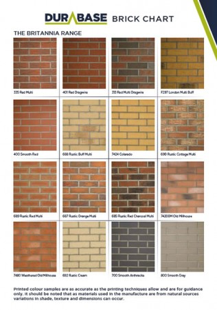 Durabase Brick & Stone Finishes